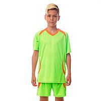 Футбольная форма подростковая Perfect, PL, р-р 24-30, рост 120-150см., салатовый (CO-2016B-(lgr))