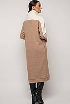 Женское теплое платье-миди под горло (Эрин-Микс ri), фото 3