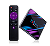 H96 MAX RK3318 4/32GB 4K ANDROID 9 Smart TV (смарт тв) Android приставка