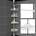 Угловая полка для ванной Multi Corner Shelf GY-188, фото 3