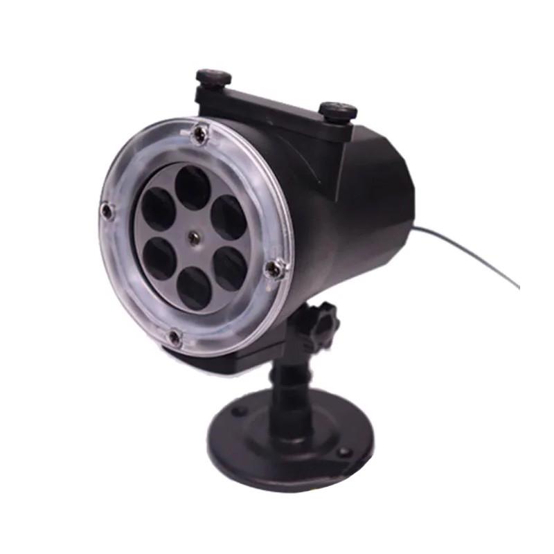 Лазерный проектор Garden Projector Card change 12 слайдов с пультом № ZP1