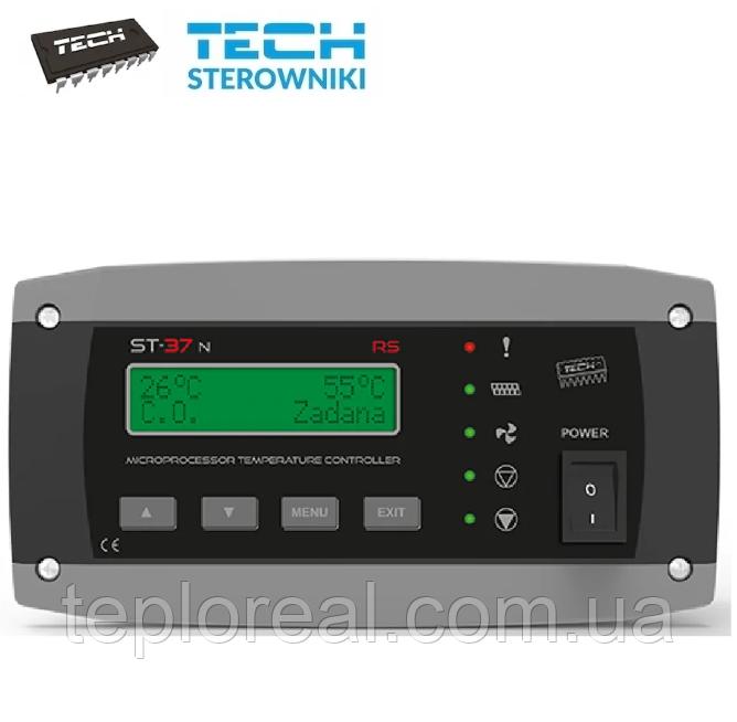 Автоматика для твердопаливних котлів Tech ST-37n RS (Польща)