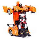 Машинка трансформер Lamborghini Robot Car Size 1:18 - Оранжевая, фото 2