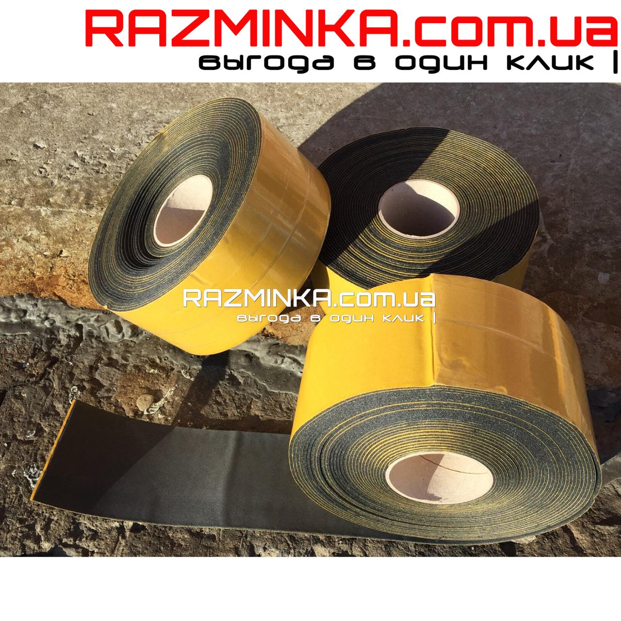Лента самоклеящаяся из вспененного каучука 3*100*15000 мм (1шт)