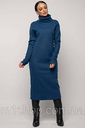 Женское плотное платье-миди под горло (Эрин ri), фото 2