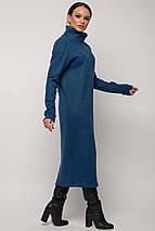 Женское плотное платье-миди под горло (Эрин ri), фото 3