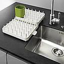 Органайзер cушилка для посуды Connect Adjustable 3-piece dishrack, фото 3