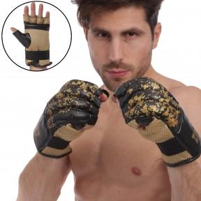 Снарядные перчатки шингарты кожаные ZELART ZB-4226