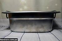 Гастрономический контейнер из нержавеющей стали GN1/4-100 Helios (7871)