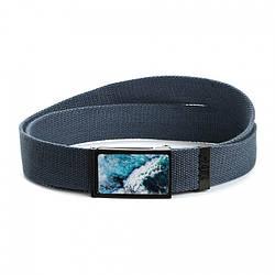 Ремень Ziz Океаническая волна синий - 222023
