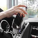 Универсальный автомобильный держатель с беспроводной зарядкой, фото 3