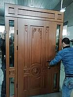 Входные двери дубовые