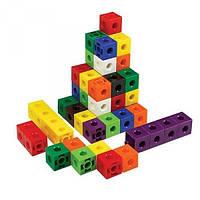 Соединяющиеся кубики (набор из 100 шт.)  EDX Education