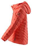 Демисезонная куртка-пуховик для девочки Reima Fern 531340.9-3220. Размеры 104-164., фото 3