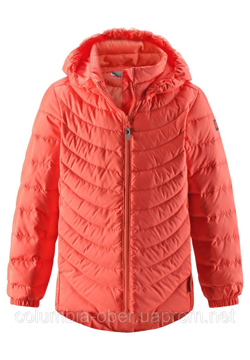 Демисезонная куртка-пуховик для девочки Reima Fern 531340.9-3220. Размеры 104-164.