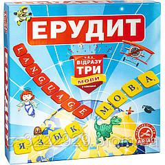 Настольная игра Arial Ерудит Три мови 910091-3