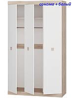 Шкаф 3-х дверный Соната-1200