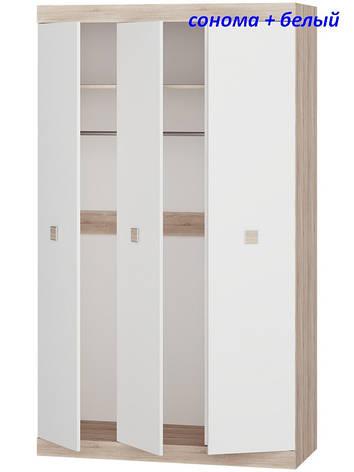 Шкаф 3-х дверный Соната-1200, фото 2