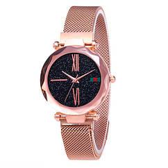 Жіночі годинники Starry Sky Watch на магнітній застібці Золоті