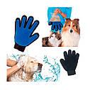 Перчатка для вычесывания шерсти животных True Touch  на правую руку, фото 2