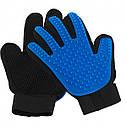 Перчатка для вычесывания шерсти животных True Touch  на правую руку, фото 4