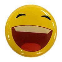 """Попсокет PopSocket 3D """"Смайлик"""" №29 - Держатель для телефона Поп Сокет в блистере с липучкой 3М"""