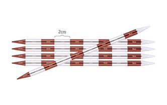 Спицы носочные 3.5  мм -20  см Smartstix KnitPro