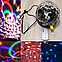 Диско шар светомузыка с MP3 (флешка + пульт), фото 5
