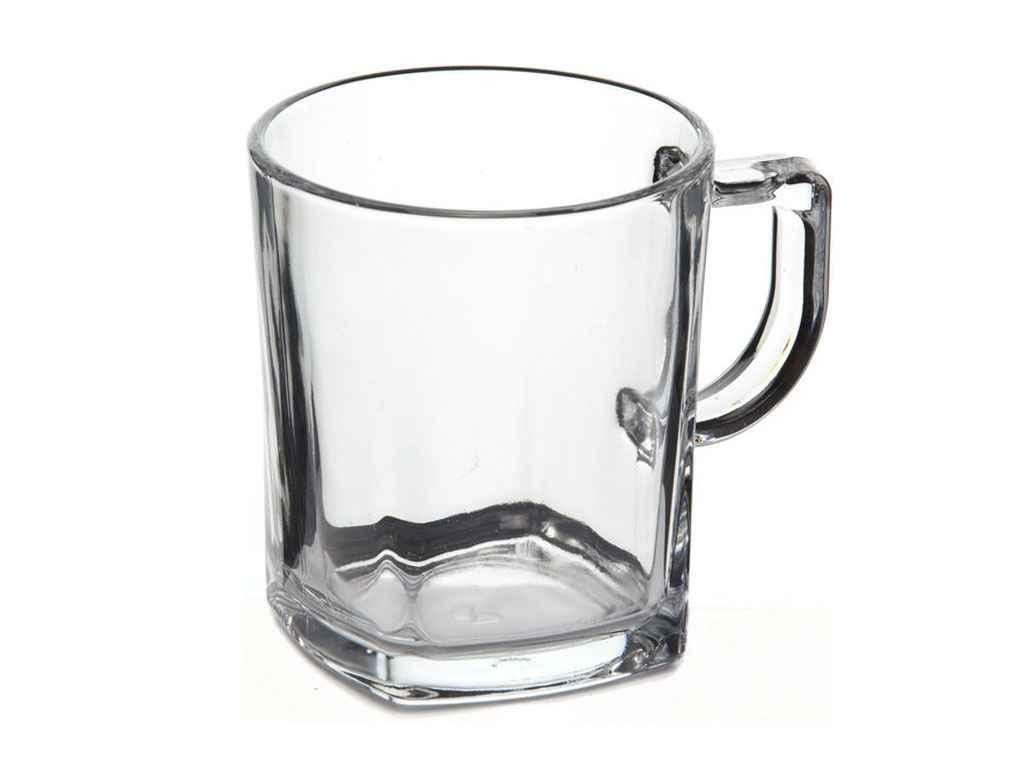 Чашка для чаю, 277мл (h=92мм, d=80х63мм) BALTIC (2шт) 55223 ТМPASABAHCE