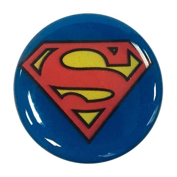 """Попсокет PopSocket 3D """"Супермен"""" №18 - Держатель для телефона Поп Сокет в блистере с липучкой 3М"""