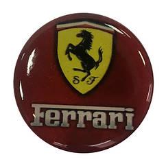 """Попсокет PopSocket 3D """"Ferrari"""" №5 - Тримач для телефону Поп Сокет у блістері з липучкою 3М"""