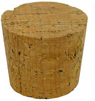 Пробка корковая конусная 30мм
