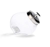 Банка стеклянная неваляшка с металлической крышкой 1.1л