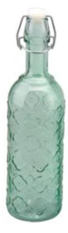 Бутылка  с бугельной пробкой 0,75л декорированная 3 цвета