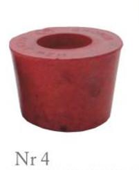 Пробка резиновая конусная №4 50х40мм