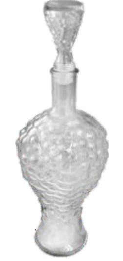 Бутылка графин со стеклянной пробкой Anello 0,75л