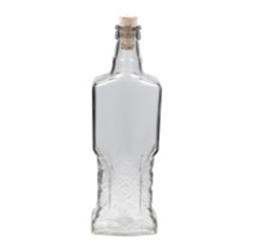 Бутылка с корковой пробкой Украинка 0.5л