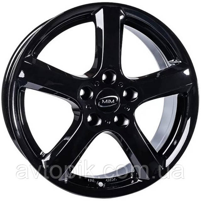 Литые диски Enzo B R17 W7 PCD5x114.3 ET40 DIA71.6 (black)