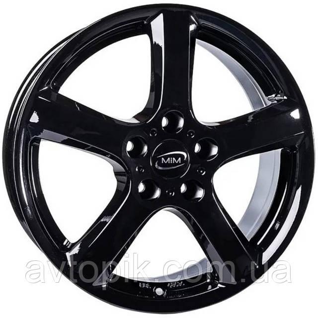 Литые диски Enzo B R16 W6.5 PCD4x108 ET46 DIA70.1 (black)
