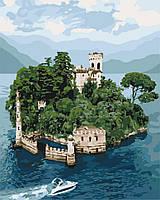 """Картина по номерам.""""Таинственный остров"""" 40*50см KHO3564"""