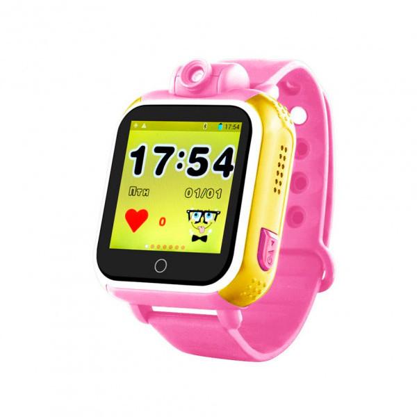 Детские часы с GPS SMART BABY WATCH Q200 Розовые