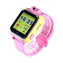 Детские часы с GPS SMART BABY WATCH Q200 Розовые, фото 5