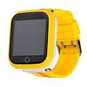 Детские часы с GPS SMART BABY WATCH Q100S Желтые, фото 2