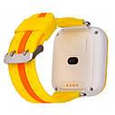 Детские часы с GPS SMART BABY WATCH Q100S Желтые, фото 3
