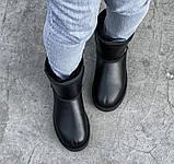 Уггі жіночі UGG CLASSIC PA47 чорні, фото 2