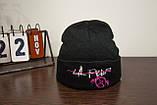 Шапка Lil Peep черная c изображением Original Collection, фото 2