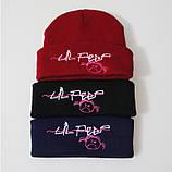 Шапка Lil Peep черная c изображением Original Collection, фото 3
