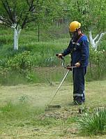 Покос травы в Днепропетровске