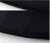 Шапка New York Yankees Черная с Черным Лого, фото 6