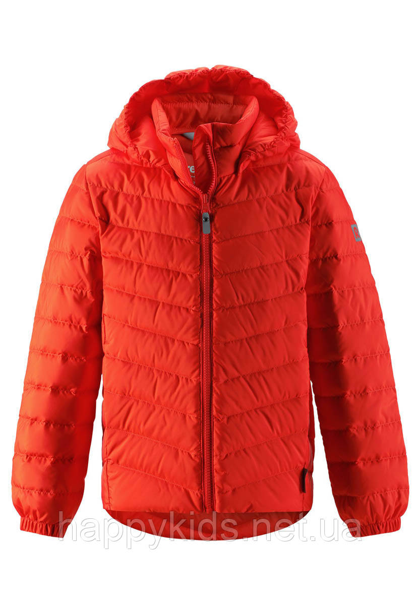 Демисезонная куртка-пуховик для мальчика Reima Falk 531341.9-2770. Размеры 104-164.